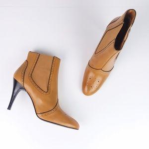 Circa Joan & David Cj Donato Leather Heel Booties